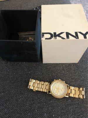 DKNY Damenuhr Gold