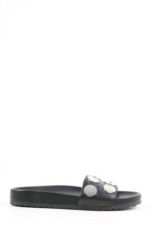 DKNY Sandalo Dianette nero stile casual