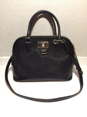 "DKNY Donna Karan ""Alma""-Bag Handtasche schwarzes Leder"