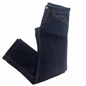 DKNY Jeans Jeansy z prostymi nogawkami ciemnoniebieski