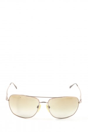 DKNY Angular Shaped Sunglasses silver-colored casual look