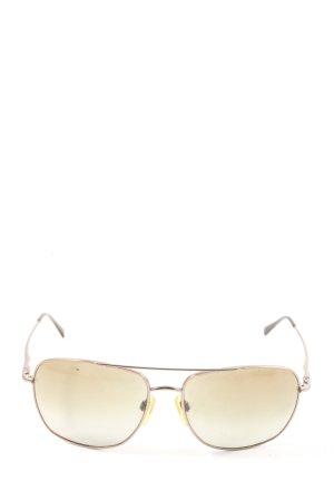 DKNY Occhiale da sole spigoloso argento stile casual