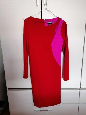 DKNY Robe fourreau rouge