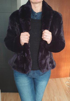 DKNY Felljacke Größe M