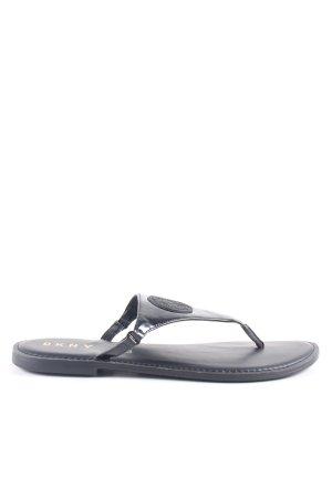 DKNY Flip-Flop Sandals black