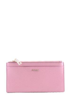 DKNY Wallet pink casual look
