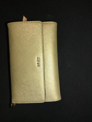 DKNY Wallet rose-gold-coloured-gold-colored leather