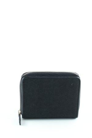 DKNY Geldbörse schwarz Schriftzug gedruckt Casual-Look