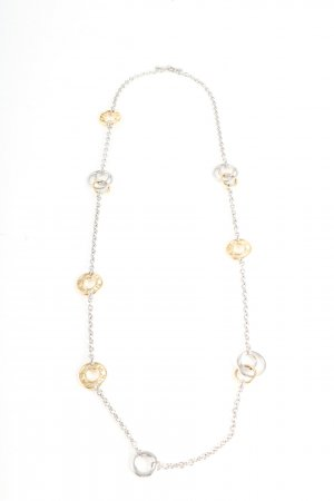 DKNY Link Chain silver-colored-gold-colored casual look