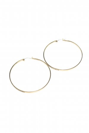 DKNY Gold Earring gold-colored casual look