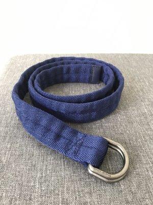 DKNY Jeans Cintura in ecopelle blu