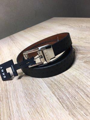 DKNY Omkeerbare riem zwart-bruin