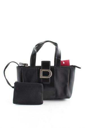 DKNY Handtasche schwarz Casual-Look