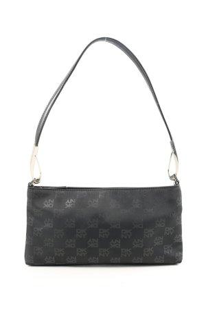 DKNY Handtasche schwarz-hellgrau Casual-Look