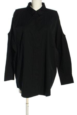 DKNY Hemd-Bluse schwarz Casual-Look