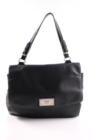 DKNY Sac Baril noir style d'affaires