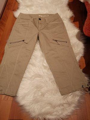 DKNY Pantalón tobillero blanco puro Algodón