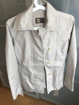 DKNY Jacke/ kurzer Trenchcoat - Gr. S, beige