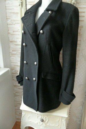 DKNY Jacke / Mantel Gr. 38 / M Schwarz & Wolle
