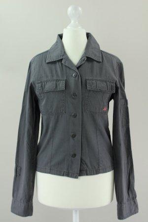 Dkny Jeans Bluse grau Größe S 1710330350497