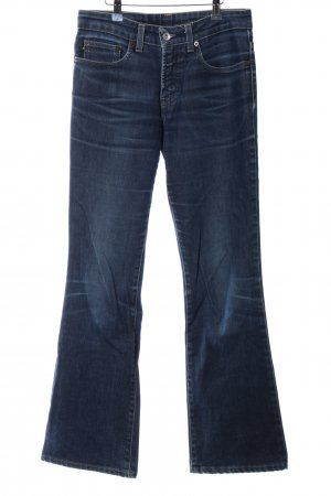DKNY Jeans Boot Cut Jeans blau Casual-Look