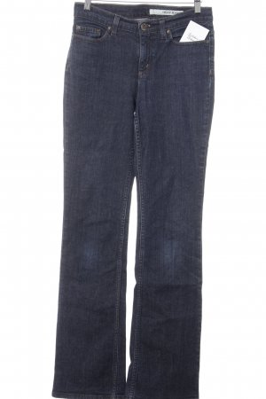 DKNY Jeans Boot Cut Jeans dunkelblau Casual-Look
