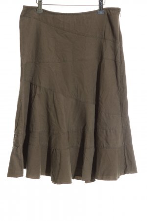 DKNY Jeans Faltenrock khaki Casual-Look