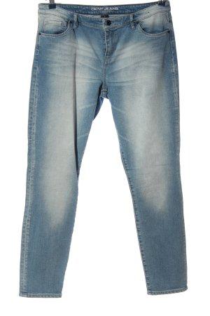 DKNY Jeans High Waist Jeans blau Casual-Look
