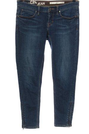 DKNY Jeans Hüftjeans blau Casual-Look