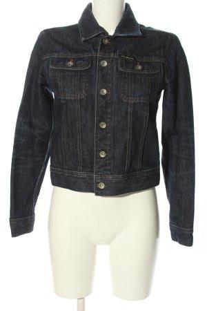 DKNY Jeans Jeansjacke blau Casual-Look