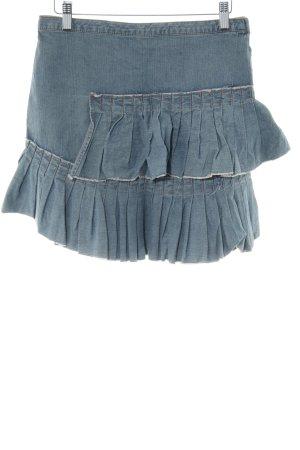 DKNY Jeans Jeansrock graublau Casual-Look