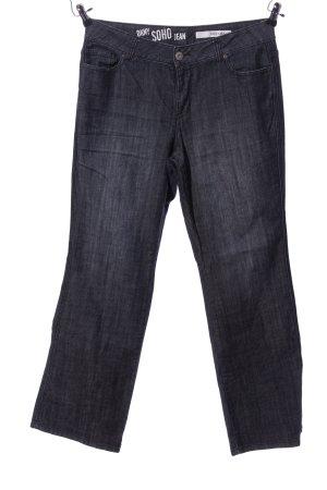 DKNY Jeans Straight-Leg Jeans schwarz Casual-Look