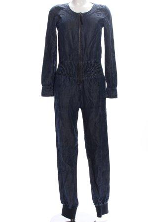 DKNY Jeans Jumpsuit blau Casual-Look