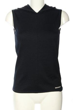 DKNY Jeans Kapuzenshirt schwarz Casual-Look