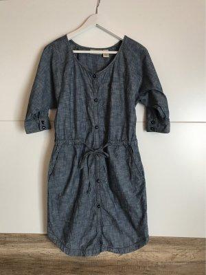 DKNY Jeans Kleid Hemdblusenkleid