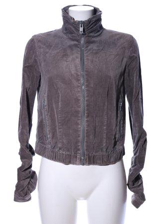 DKNY Jeans Kurzjacke hellgrau Casual-Look