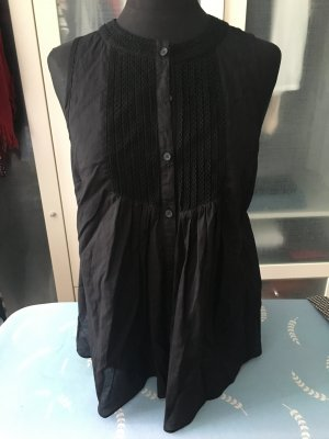 DKNY Jeans leichte Umstandsbluse schwarz