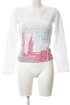 DKNY Jeans Longsleeve Motivdruck Casual-Look