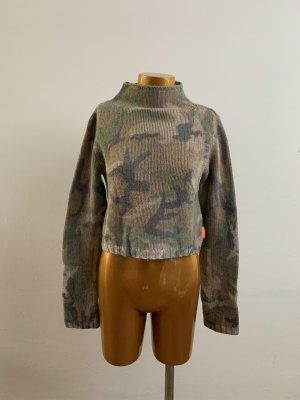 DKNY Jeans Military Pulli Strick