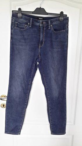 DKNY Jeans Jeansy typu boyfriend ciemnoniebieski Bawełna
