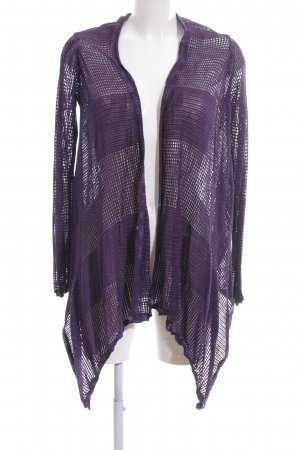 DKNY Jeans Knitted Cardigan lilac weave pattern casual look