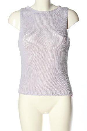 DKNY Jeans Stricktop lila Casual-Look
