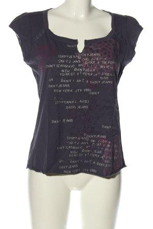 DKNY Jeans T-Shirt Motivdruck Casual-Look