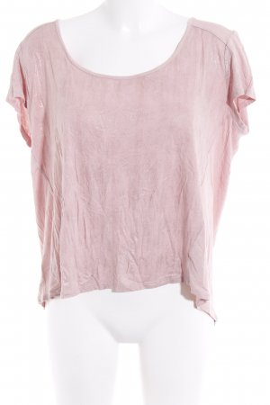 DKNY Jeans T-Shirt hellrosa Casual-Look
