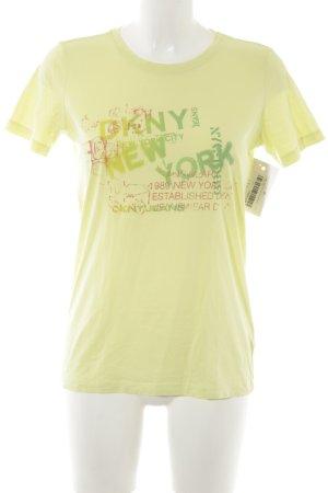 DKNY Jeans T-Shirt Schriftzug gedruckt Casual-Look