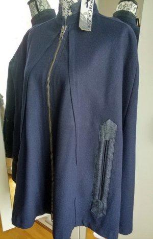 DKNY Jeans Wolle Cape Peacoat Jacke !NEU!