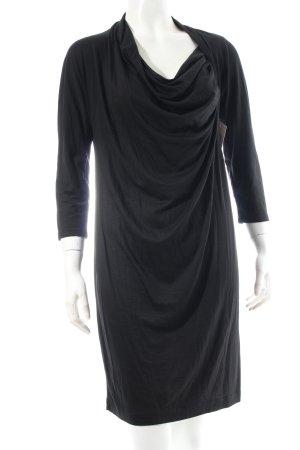 DKNY Jerseykleid schwarz