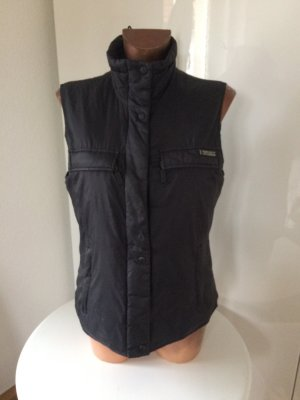 DKNY Jeans Gilet en duvet noir