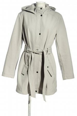 DKNY Hooded Coat light grey casual look