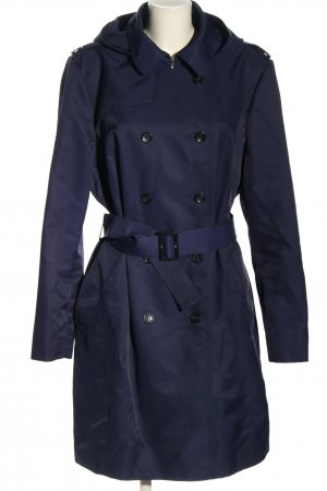 DKNY Hooded Coat blue elegant